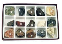 Ores of Common Metals (Specimen Collection)