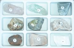 Mineral Scale of Hardness Set #1, Without Diamond (Specimen Collection)
