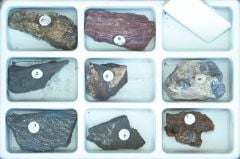 Mineral Identification by Streak Characteristics (Specimen Collection)