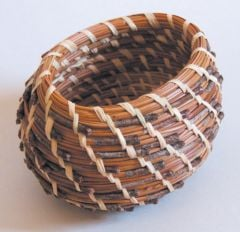 Quick-Start Pine Needle Basket Kit (Oval Style)