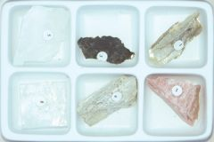 Mineral Identification by Cleavage Characteristics (Specimen Collection)