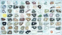 Comprehensive Earth Science Rock and Mineral Specimen Collection (with Test Kit)