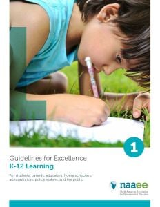 K-12 Learning (Guidelines for Excellence Series, Member)