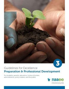 Preparation & Professional Development - Guidelines for Excellence Series