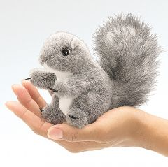 Squirrel (Gray) Finger Puppet