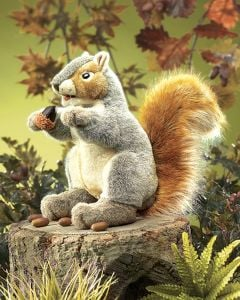 Squirrel (Gray) Puppet