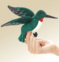 Hummingbird Finger Puppet