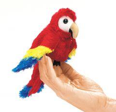 Macaw (Scarlet) Finger Puppet