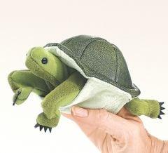 Turtle Finger Puppet