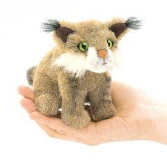Bobcat Finger Puppet