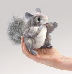 Chinchilla Finger Puppet