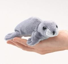 Monk Seal Finger Puppet
