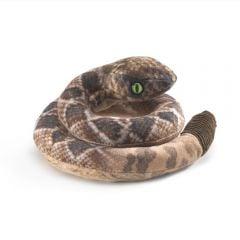 Rattlesnake Finger Puppet