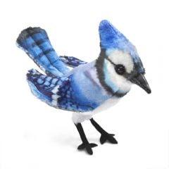 Blue Jay Finger Puppet