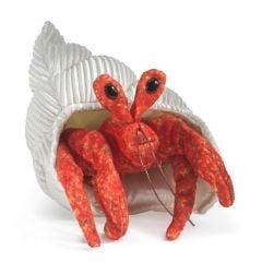 Hermit Crab Finger Puppet
