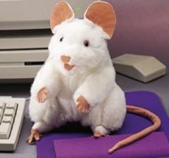 Mouse (White) Puppet