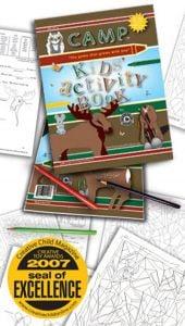 Camp, Kids' Activity Book