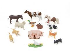 Barnyard Animals Model Collection (Discounted Set of 13 Models)