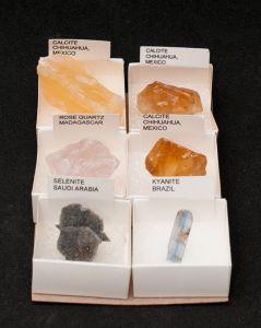 Mixed Minerals, Set Of 6