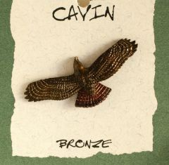 Eagle Bronze Pin (Wildlife in Bronze)
