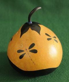 Dragonfly Decorative Gourd