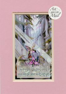 Hummingbird Mailable Art Card
