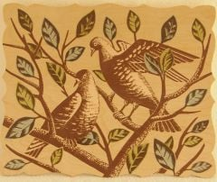 Two Doves Artboard