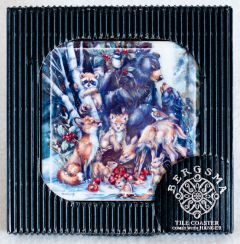 Woodland Holiday Decorative Tile