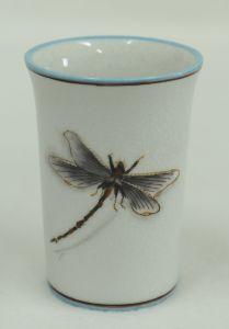 Dragonfly Decorative Porcelain Glass