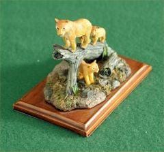 Lioness Mini Sculpture