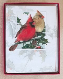 Cardinal Christmas Holiday Boxed Notes