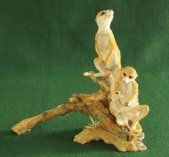 Meerkat Family Sculpture