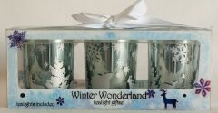 Winter Wonderland Tealight Gift Set
