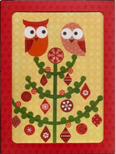 Fanciful Owls Holiday Boxed Notes