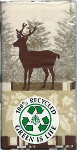 Holiday Deer Pocket Tissue Pack