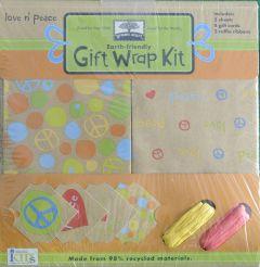 Love n' Peace Gift Wrap Kit
