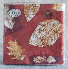 Autumn Leaf Cocktail Napkins