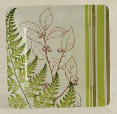 Ferns Melamine Plate