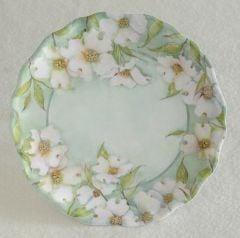Dogwood Flower Melamine Plate