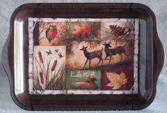 Autumn Lake Mini Tray