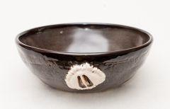 Deer Track Stoneware Bowl
