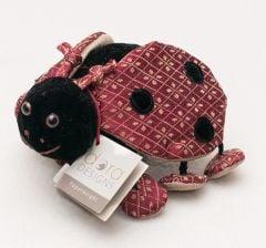 Ladybug Plush Paperweight