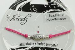 Hope & Miracles Flip Bracelet