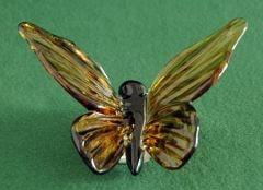 Glass Butterfly Sculpture