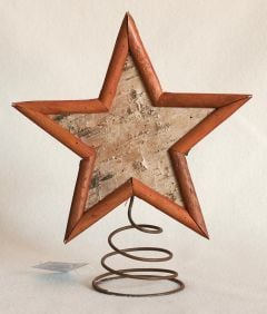 Birch Star Tree Topper