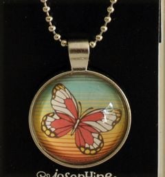 Butterfly Necklace (Art Drops)