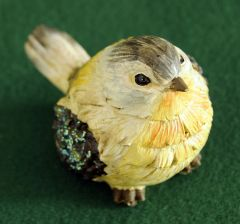 Glitter Wing Bird Figurine