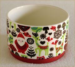 Christmas Collage Bowl