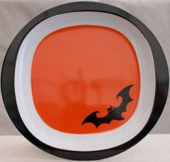 Spooky Bat Halloween Plate