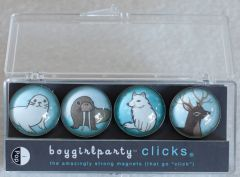 Winter Animals Clicks® Magnet 4-Pack